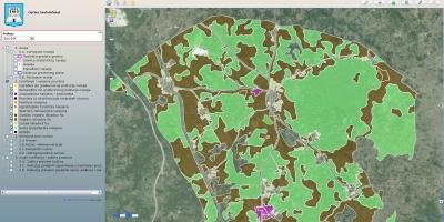 Namjena zemljišta na DOF-u