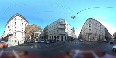 Panoramska slika sferne kamere